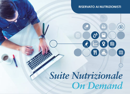suite nutrizionale on demand